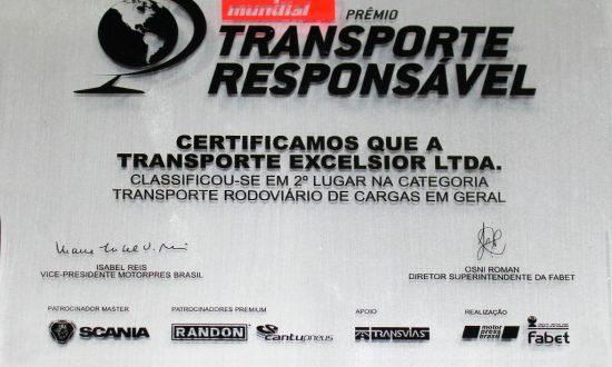 Premio Transporte Responsável