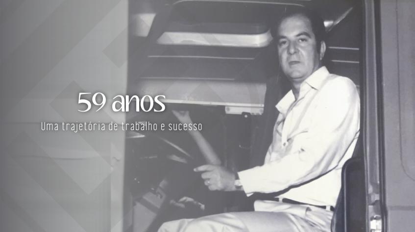 59 anos de Excelência em logística