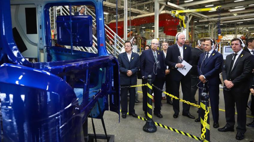 Scania anuncia investimentos no Brasil