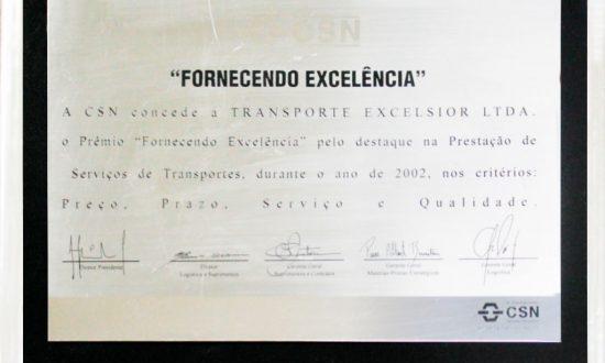 Prêmio Fornecendo Excelência